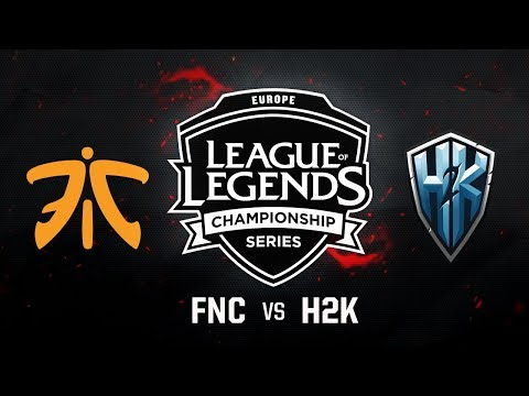 Fnatic vs. H2K | EU LCS Summer Regional Qualifier|Game 1 | FNC vs. H2K (2017)