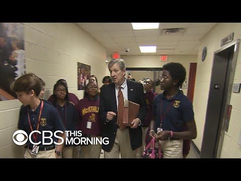Inside Sen. John Kennedy's middle school civics class