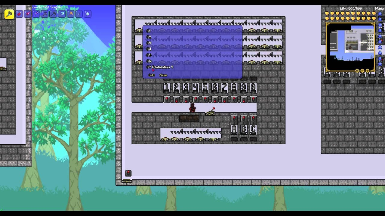 Terraria Hoiktronics How To Build A Teleporter Hub Updated Version Youtube The teleporters are connected on a cycle. terraria hoiktronics how to build a teleporter hub updated version