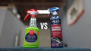 CHEAP VS EXPENSIVE: GRIOTS 3 IN 1 CERAMIC WAX VS EAGLE ONE NANO WAX: IS CHEAPER ALWAYS BETTER?