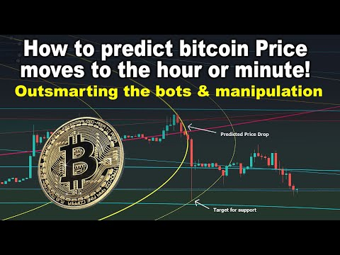 Predicting Bitcoin Price Moves To The Hour!  Outsmart BTC Trading Bots & Manipulation, Drops & Pumps