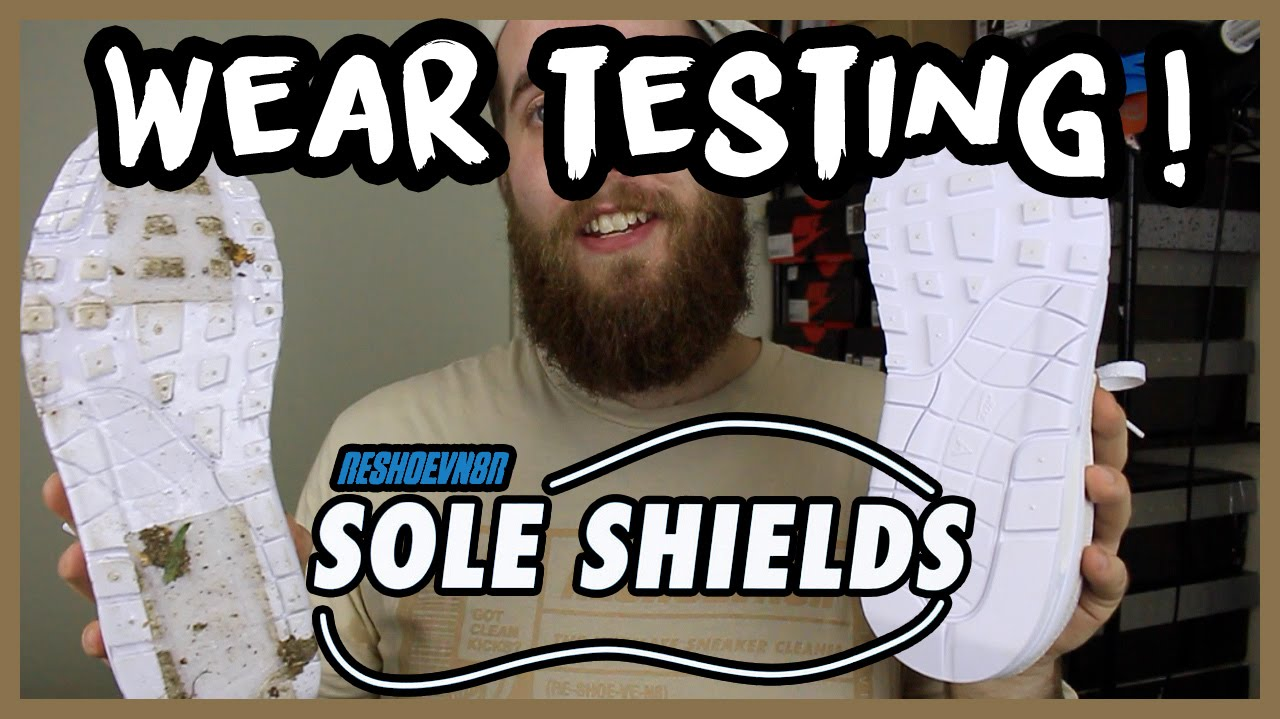 ARE SOLE PROTECTORS WORTH BUYING? WEARTESTING @RESHOEVN8R SOLE SHIELDS | xChaseMaccini