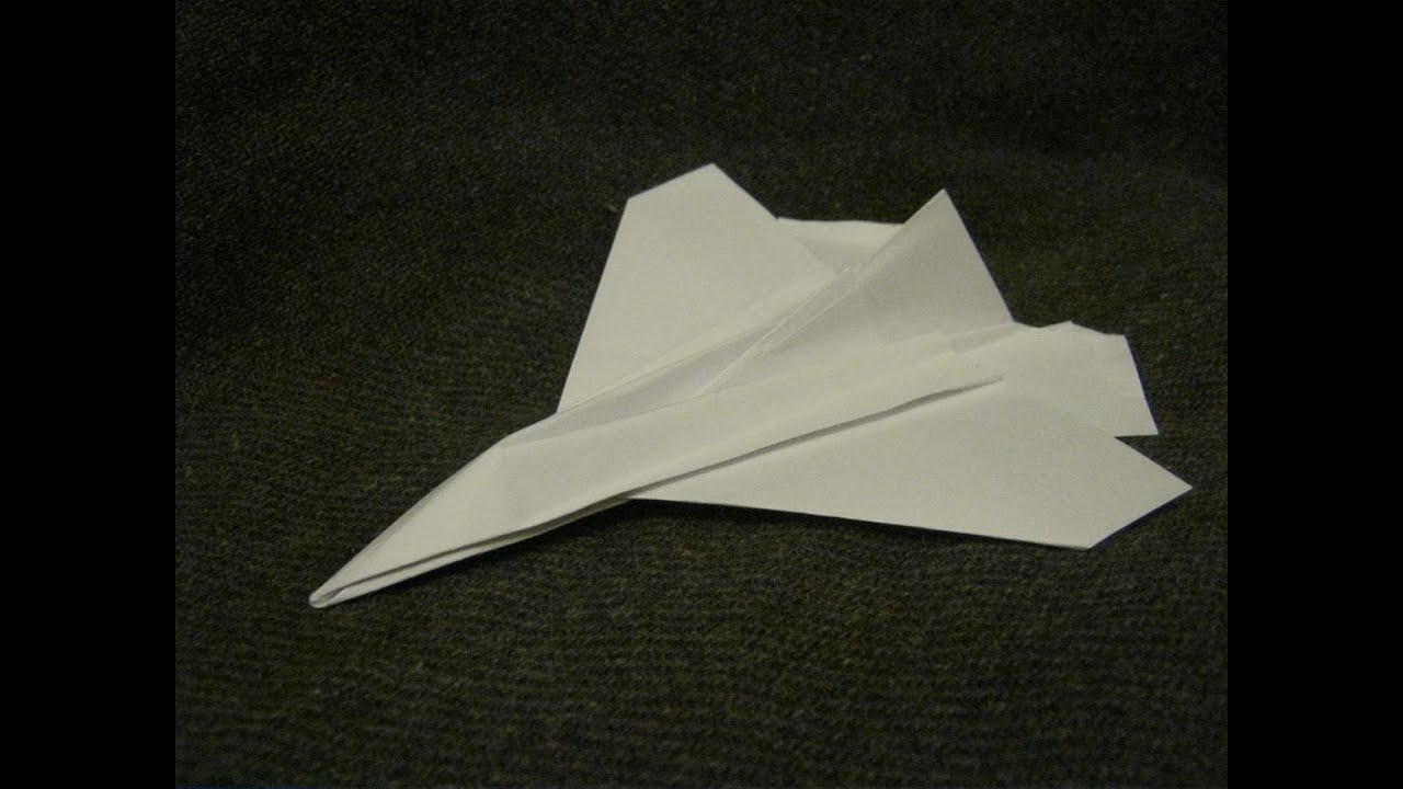 Flying Paper Aircraft