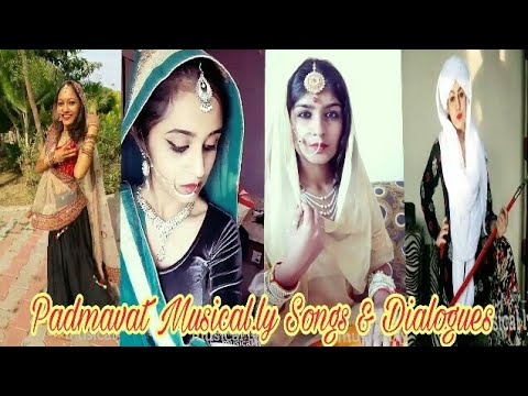 Padmaavat Musical.ly Songs & Dialogues | YouTube Villa