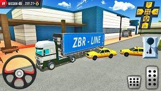 DAF XF화물 트럭 운전-쇼핑몰 주차장-Android 게임 플레이