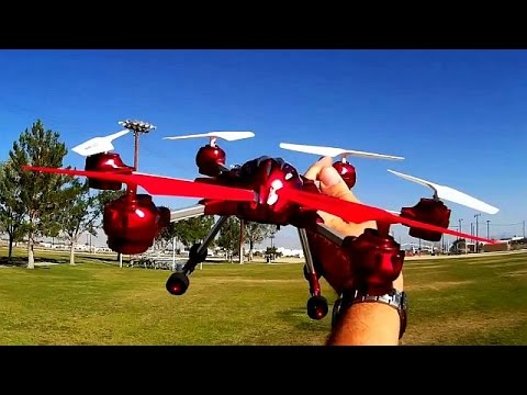 W609-10 Hexacopter Drone Test Flight Review