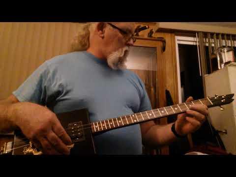 A new bayou blues guitar sound test