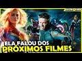 ATRIZ DE CAPITÃ MARVEL SOLTA O VERBO SOBRE OS PRÓXIMOS FILMES