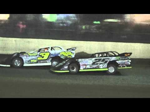 2016 LaSalle Speedway Thaw Brawl Saturday Late Model Feature Highlights