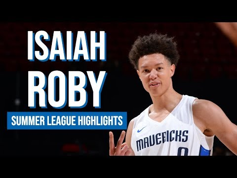 Dallas Mavericks: An Isaiah Roby block that fans have to see