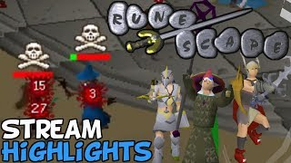 Old School Runescape PVP - TheLazyPeon Stream Highlights