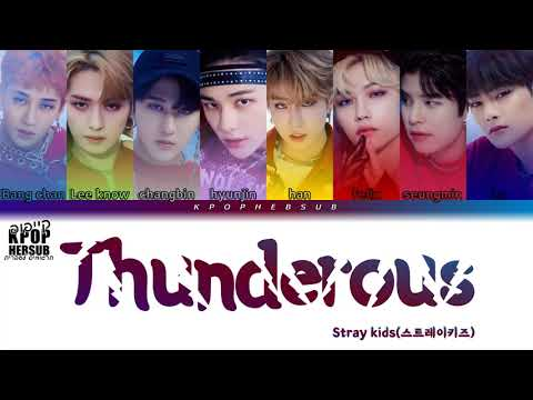 Download STRAY KIDS - THUNDEROUS(소리꾼) [HEBSUB]