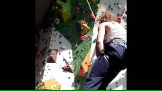 Klettern ohne Füße