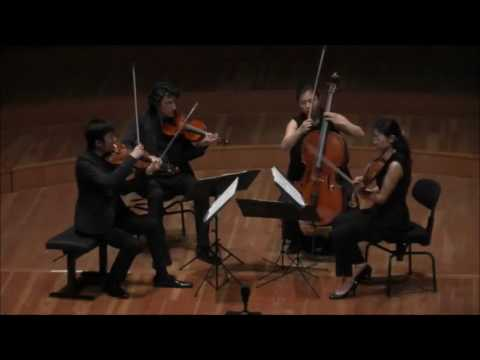 György Kurtág - 12 microludes for string quartet/ Quartet Berlin-Tokyo