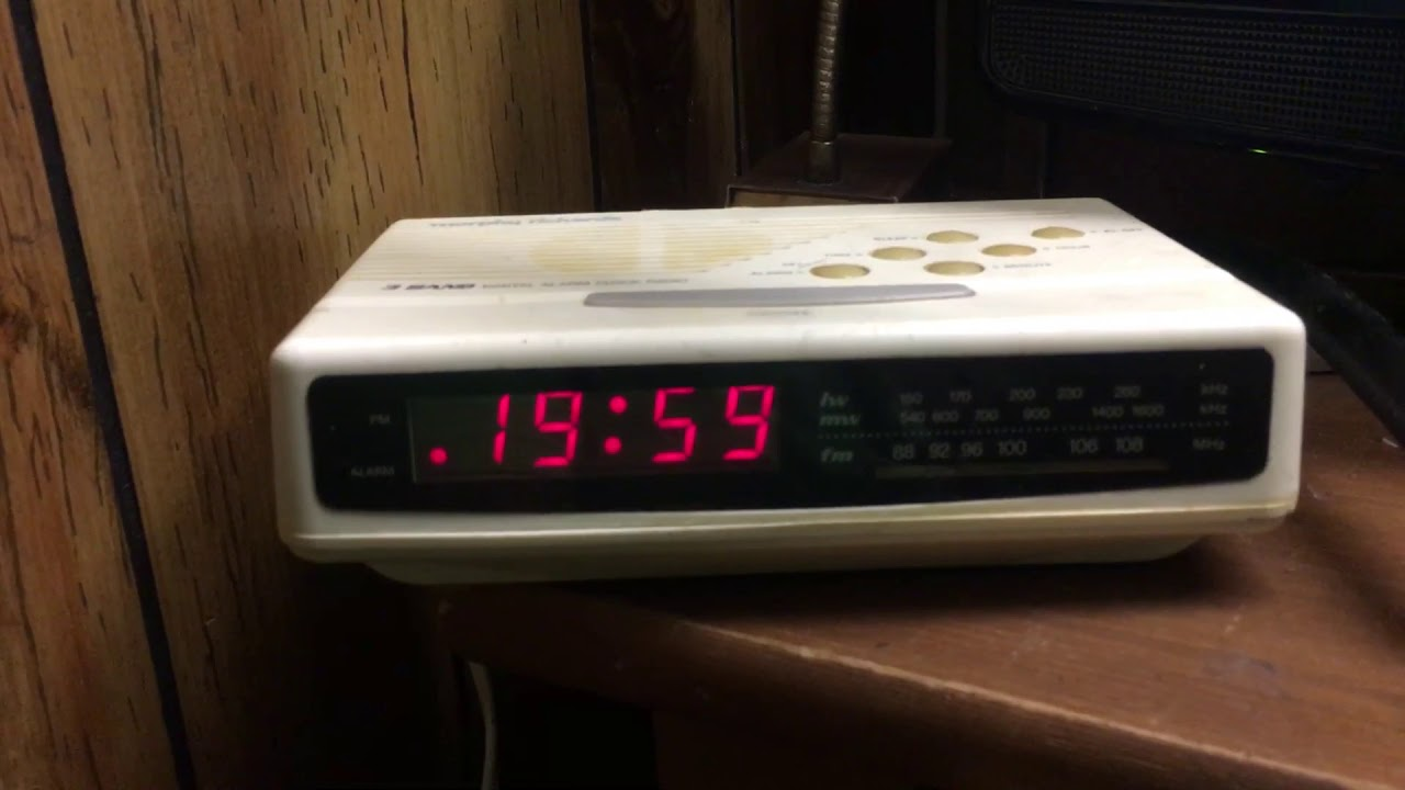 24 hour time on the morphy richards clock radio youtube24 hour time on the morphy richards clock radio