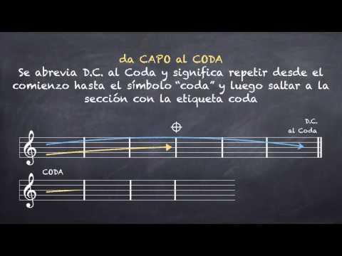 Signos de Repeticion II: DaCapo, DalSegno y Coda (Ln 10.3)