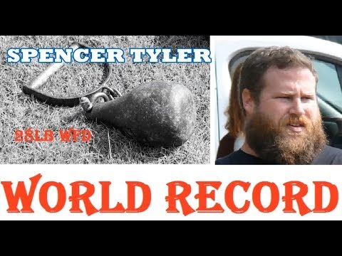 WORLD RECORD 28lb Weight For Distance 97'1/2 Spencer Tyler 2019
