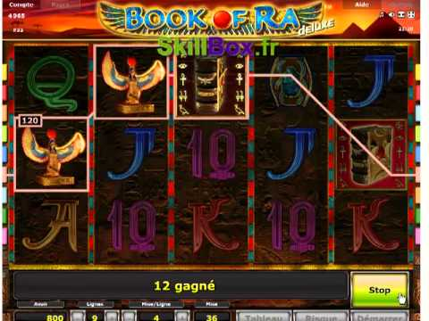 casino machine a sous book of ra