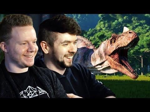 LIFE FINDS A WAY   Jurassic World Evolution w/ Robin