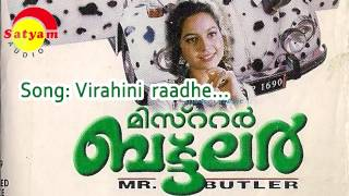 Video Virahini raadhe - Mr Butler download MP3, 3GP, MP4, WEBM, AVI, FLV Agustus 2017