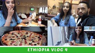 Ethiopia Vlog 4 Trying American Food & Amazing Views | Amena