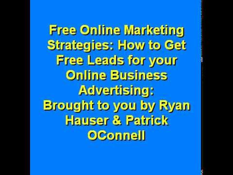 Online Marketing Strategies THEY Don't Want you to Know and More Free Videos