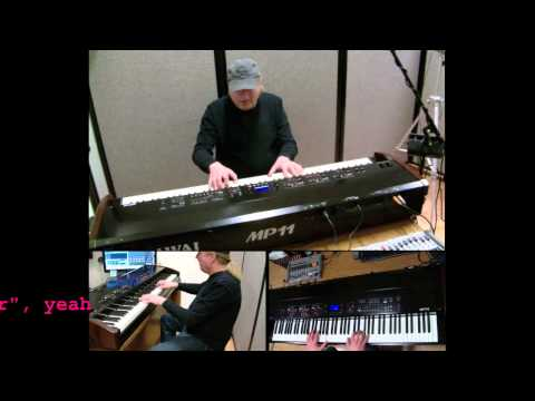 Down Under (Men At Work) - Piano Cover w/ lyrics