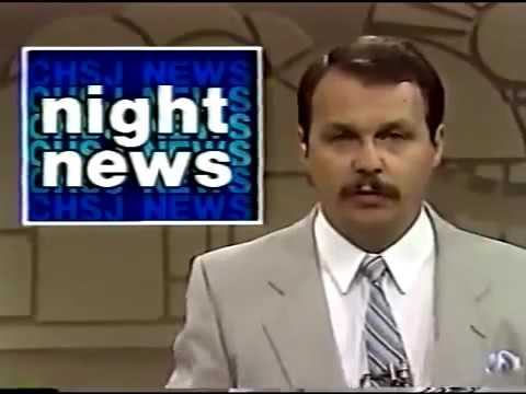CHSJ-TV 11pm News, July 22, 1988