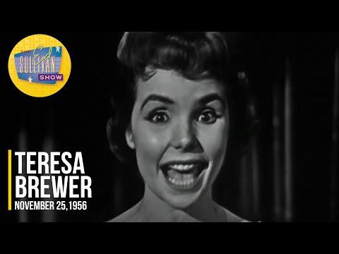 "Teresa Brewer ""Mutual Admiration Society"" on The Ed Sullivan Show"