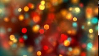 Футаж Абстрактный Фон Новогоднее Мерцание Огоньки видео фон для слайд шоу