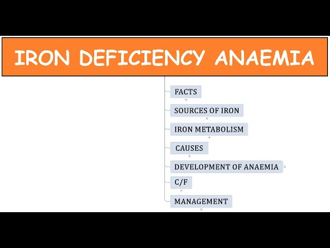 1 Iron deficiency anaemia Facts