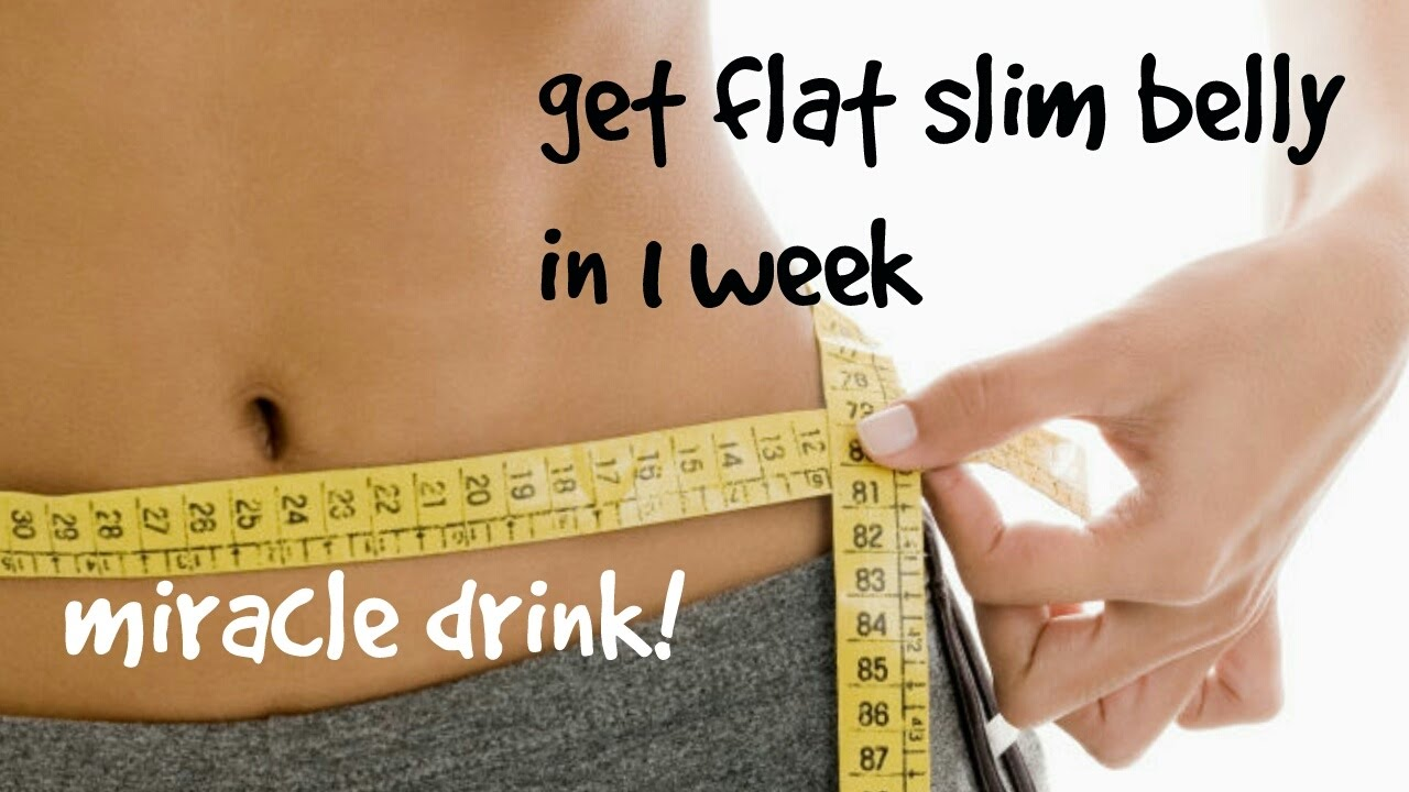 how to make your belly flat in a week