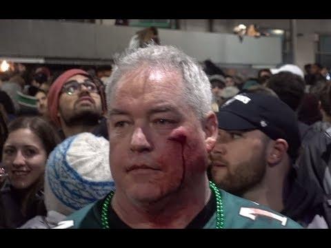 Philadelphia Superbowl Chaos