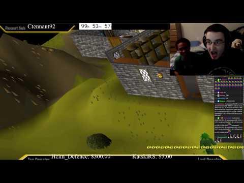 MrNoSleep 100 HOUR Stream Last Minutes, RuneScape WORLD record of longest livestream.