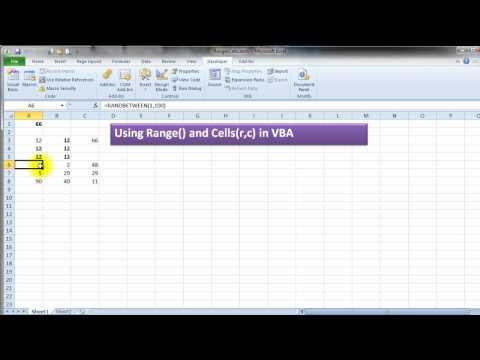 Excel Vba Range Cell Reference