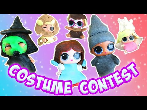 LOL Surprise Dolls Name the Movie Costume Contest! W Lil Sisters and Play-Doh! | LOL Dolls Families
