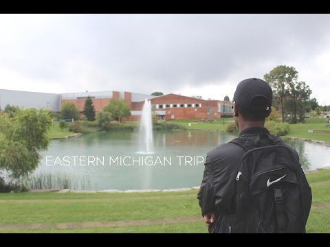 Eastern Michigan University Trip | Vlog 4