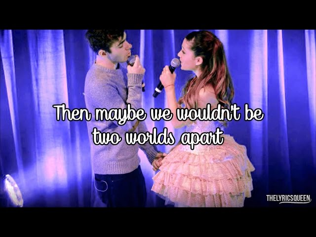 Ariana Grande & Nathan Sykes - Almost Is Never Enough [Lyrics] HD