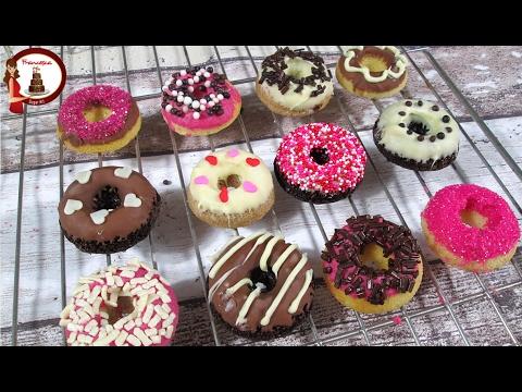 Ricetta Dei Donuts Al Forno.Ricetta Mini Donuts Al Forno Francesca Sugar Art Youtube