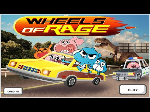 Cartoon Network Games   The Amazing World of Gumball   Wheels Of Rage