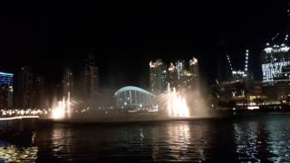 Dubai musical fountain (water show)