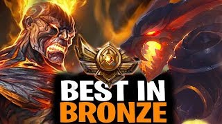 best champions to play to climb out of bronze for all roles league of legends