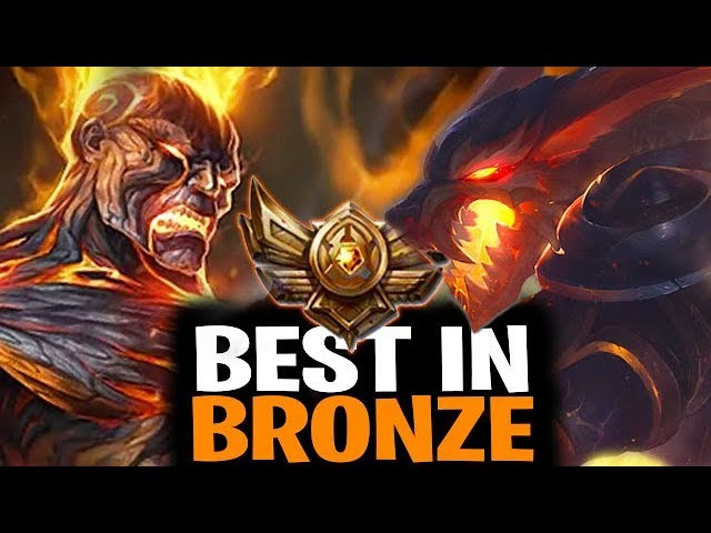 Best Champions To Play To Climb Out Of Bronze For All Roles League Of Legends Youtube