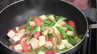 How To Make Stir Fry Tofu With Vegetables