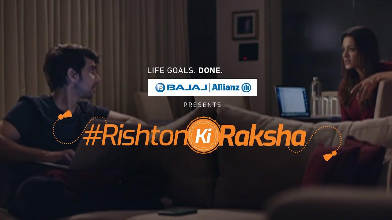 Happy Raksha Bandhan 2020   #RishtonKiRaksha done toh #LifeGoalsDone   Bajaj Allianz Life
