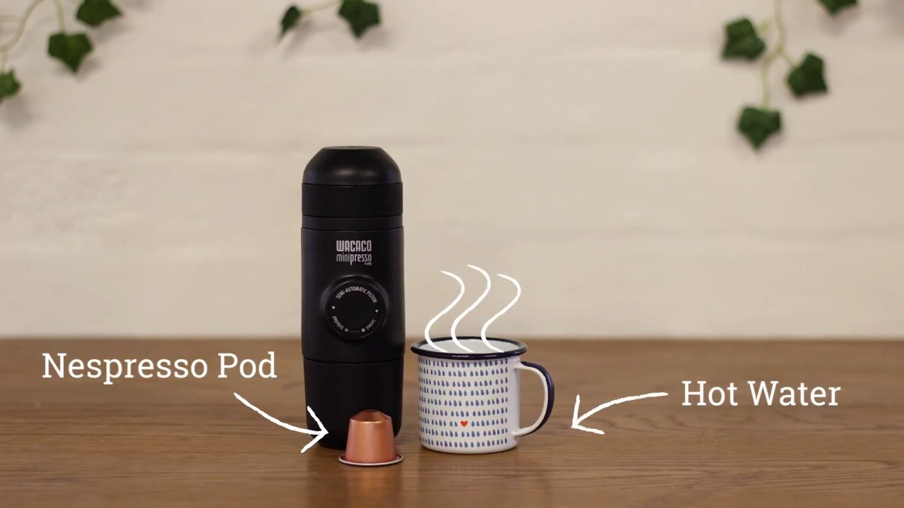 Wacaco Capsule Minipresso Portable Espresso Machine