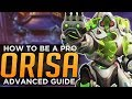 Overwatch How To Be A PRO Orisa Halt Combos Advanced Guide mp3