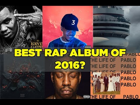 The BEST RAP Album of 2016 IS........
