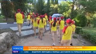 В Тбилиси разразился скандал из-за поездки грузинских детей в Артек