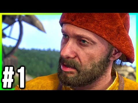 Kingdom Come: Deliverance Walkthrough Part 1 - GAMEPLAY